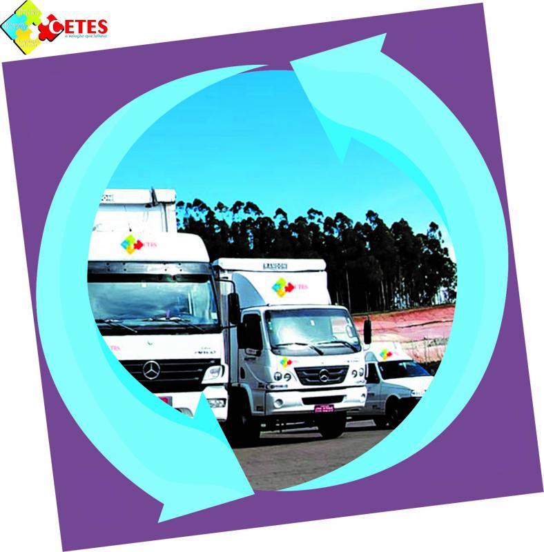 Coleta de residuos de farmacias