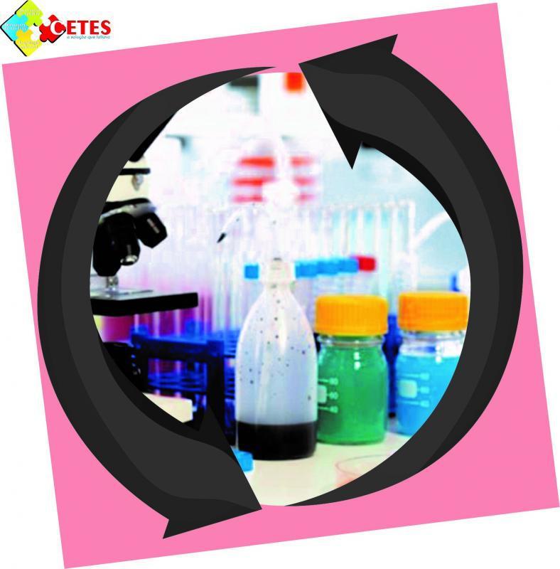 Descarte de resíduos de laboratório de análises clínicas