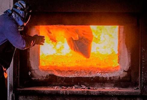 Empresa de incineração de lixo hospitalar