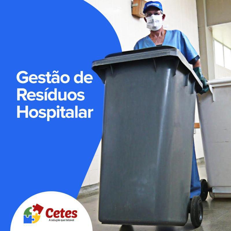 Gerenciamento de resíduos de saúde
