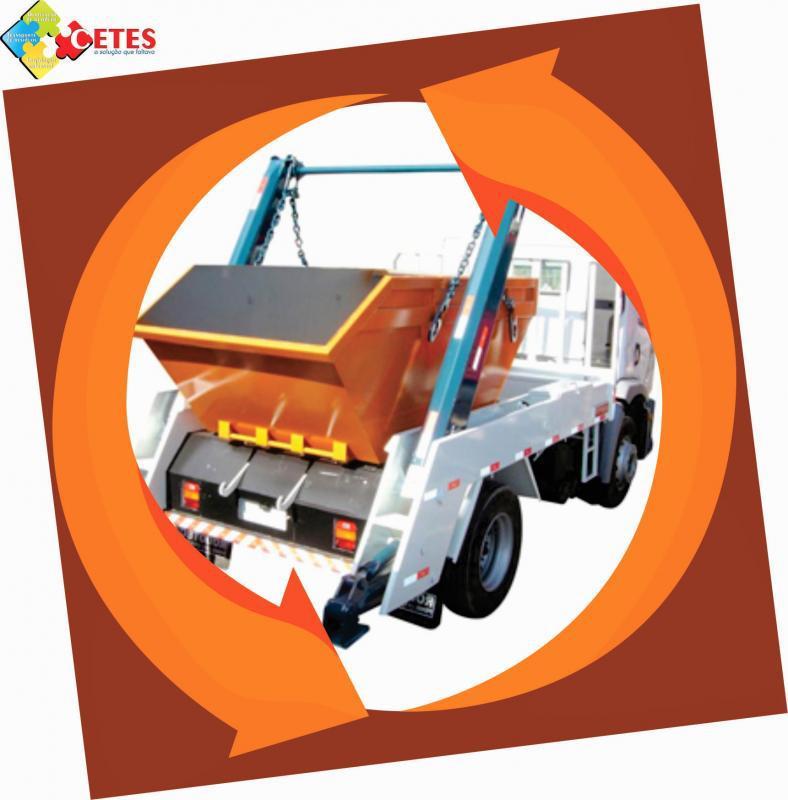 Transporte de residuos de obra