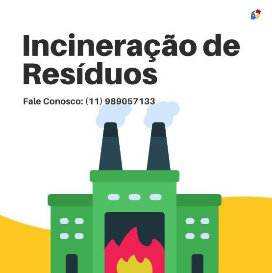 Tratamento de residuos incineração